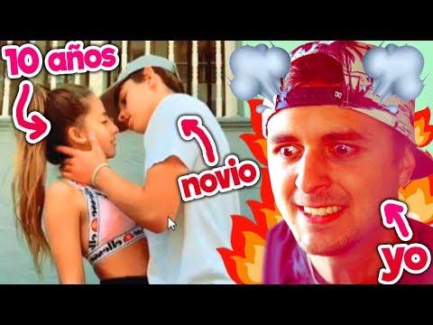 Finalmente se besaron...😡 mi hermana (de 10 años) y SU NOVIO 😡