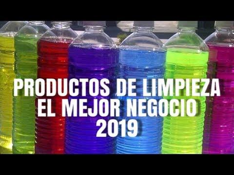 EL MEJOR NEGOCIO DE 2019 (PRODUCTOS DE LIMPIEZA) LIMPIADOR BEBE