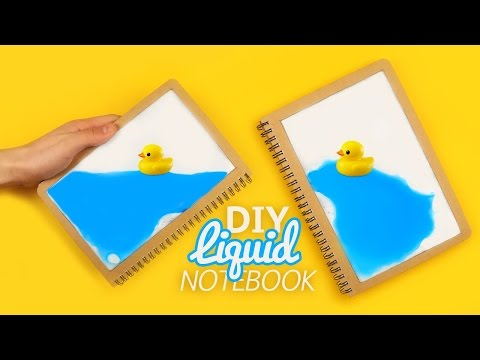 How to make Liquid Notebook