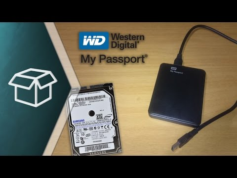 "Unboxing & Review Carcasa para Disco Duro HDD de 2.5"" (My Passport - Western Digital)"