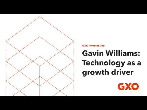 GXO Investor Day: Technology as a growth driver