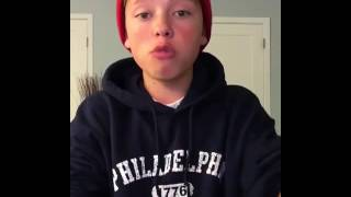 Jacob Sartorius Rapping to Needed me by Rihanna