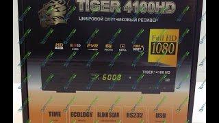 Видео обзор Tiger 4100 HD