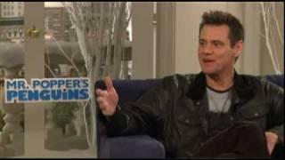 Jim Carrey Interview for MR. POPPER'S PENGUINS