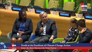 From the Streets to the UN: Youth at the Forefront of the Climate Change Action
