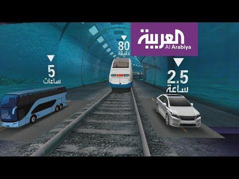 العرب اليوم - شاهد : الصين تبدأ بناء أول قطار فائق السرعة تحت الماء في 2019