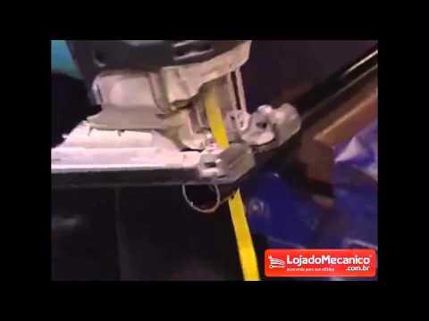 Jogo de Serras Tico-Tico Bi-Metal com 20 Peças de 75 mm - Video