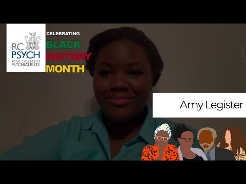 Amy Legister on Black History Month and Black Mental Health