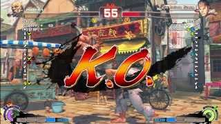 Bullcat (Gouken) Vs Kisaran (Ryu) - AE 2012 Matches *1080p HD*