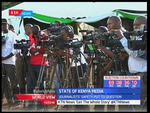 State of Kenya's Media: Otsieno Namwaya-Researcher,Human Rights Watch