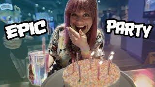 MY EPIC ARCADE BIRTHDAY PARTY!