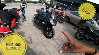KAWASAKI NINJA 1000 IN LINE4 || ITS COMFORTABLE FOR TOURING