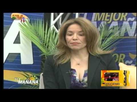 Entrevista a la Dra. Patria Rojas, Prog. Tu Mejor Mañana PHM