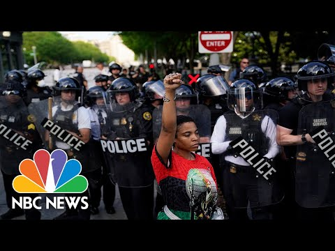 Growing Protests Nationwide After Death of George Floyd   NBC Nightly News