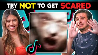 Teens React To Try Not To Get Scared Challenge