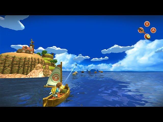 Oceanhorn - Monster of Uncharted Seas Switch Trailer