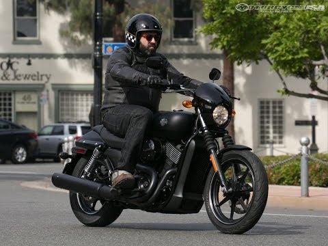 2014 Harley-Davidson Street 750 First Ride - MotoUSA