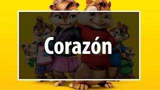 Maluma - Corazón Ft. Nego Do Borel (Chipmunks Version)