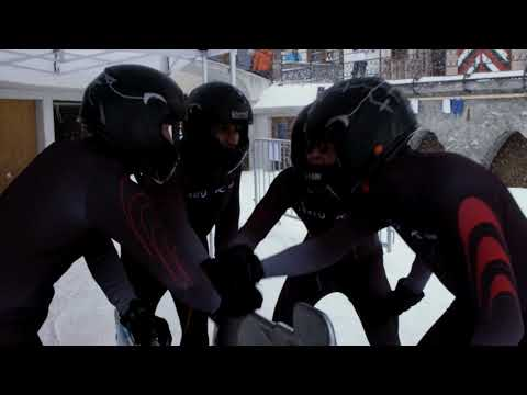 HeiQ x Kjus bobsled suits hit the Olympia Bob Run in St. Moritz