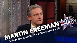 Martin Freeman Is Not Turned Off By Racy Sherlock Fan Art