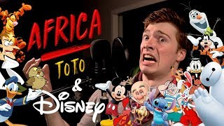 """Africa"" But It's 24 Disney Impressions"