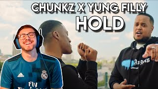 THESE GUYS JUST MAKE YOU SMILE!! | Chunkz X Yung Filly - Hold [Music Video] | REACTION!!