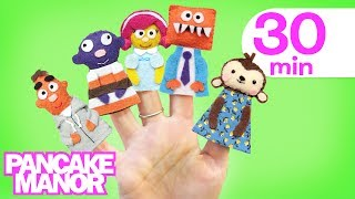FINGER FAMILY♫ | Nursery Rhyme | Kids and Baby Songs Collection | Pancake Manor