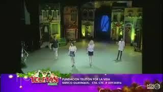 Kudai - Aquí Estaré (En Vivo) Teleton Ecuador 2017