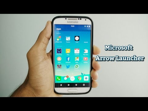 Microsoft's Arrow Launcher For Android First Look and Download
