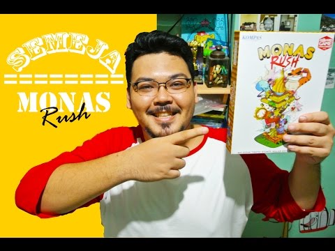 Semeja Main Board Game Indonesia - Monas Rush