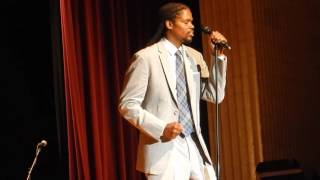 Landau Eugene Murphy Jr. performs a 'Purple Rain' tribute to Prince!
