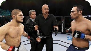 UFC 3 БОЙ Хабиб Нурмагомедов vs Тони Фергюсона (com. vs com.)