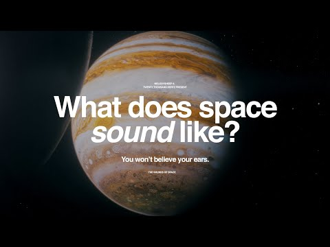 What Does Space Sound Like?