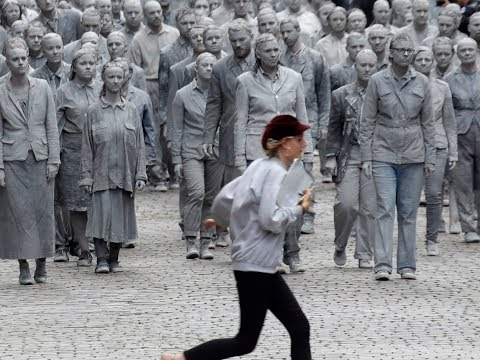 Zombies descend on Hamburg streets to protest against G20 summit