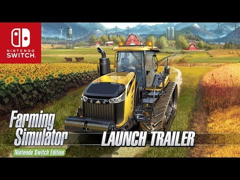Farming Simulator Switch Edition - Launch Trailer thumbnail