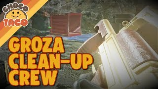The Groza Clean-Up Crew - chocoTaco PUBG Gameplay