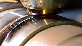 MegaStir FSW cBN tool on Stainless to Steel