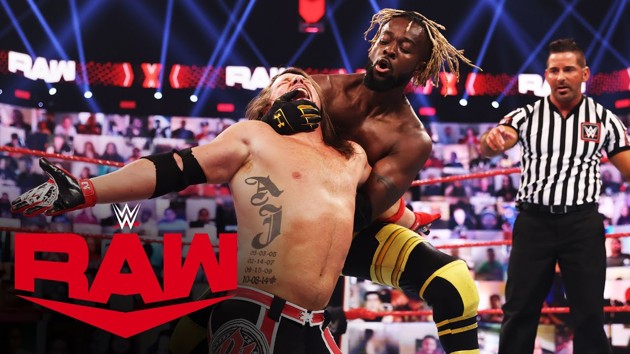 RAW Tag Team Champions Omos And AJ Styles Return To Face The New Day