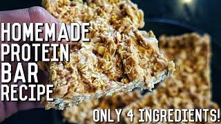 Homemade Protein Bars | Easy Bodybuilding Recipe