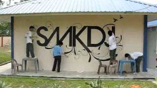 Interact Club SMKDJ 2009 Mural