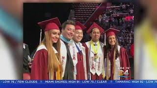 Sadness And Celebration At Marjory Stoneman Douglas High Graduation
