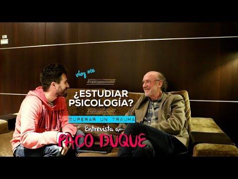 Superar un trauma. Entrevista a Paco Duque.