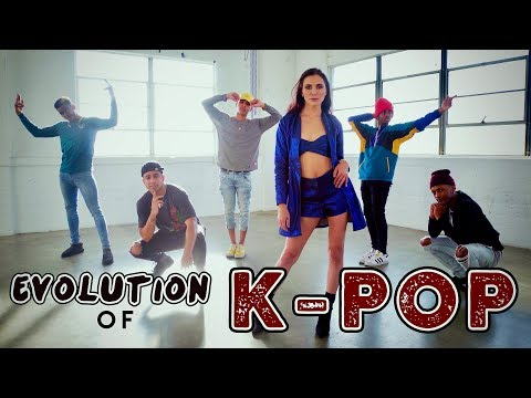 Evolution of K-POP!! (ft. Alyson Stoner & Next Town Down)
