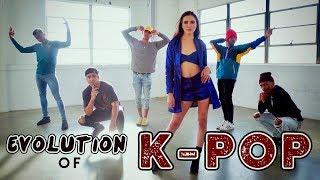 Gambar cover Evolution of K-POP!! (ft. Alyson Stoner & Next Town Down)
