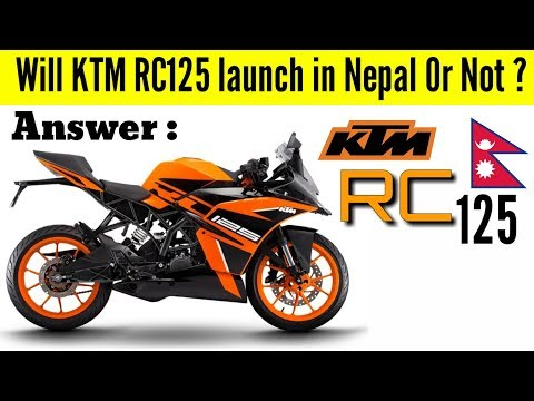 Will KTM RC125 launch in Nepal ?| Price and Things you should know about KTM RC125