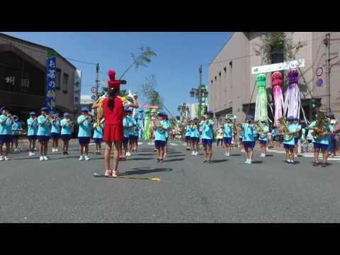 南小学校吹奏楽委員会(一関夏まつり2016.8.5)