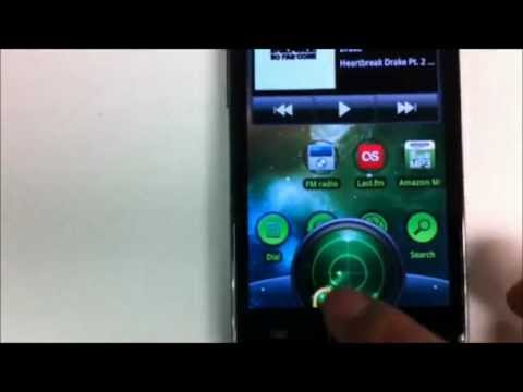 Video of SmartShift Lockscreen