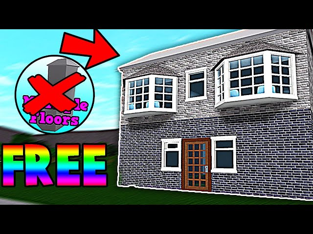 How To Make An Upstairs In Roblox Bloxburg How To Get How To Get Free Gamepasses In Bloxburg