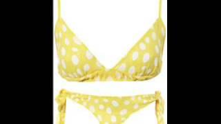 Brian Kontini - Itsy Bitsy Teenie Weenie Yellow Polka Dot Bikini