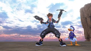 Yozora's Blade and Guns model over Shooting star showcase - Kingdom Hearts 3 mods